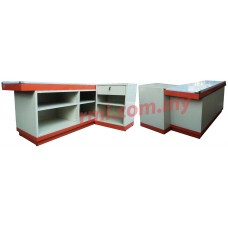 Cashier Counter c/w Cash Register Stand