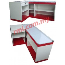 Cashier Counter Red & White