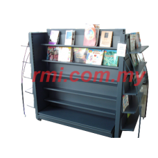 END & DOUBLE BOOK DISPLAY