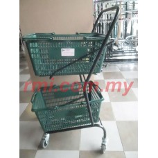 2 LAYER TROLLEY