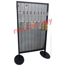 Double Sided Netting Stand (Grey)