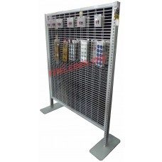 Double Sided Netting Stand (White)