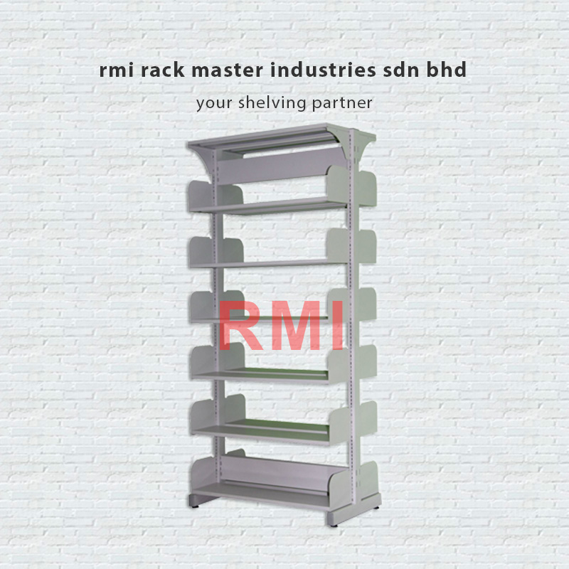 Library single sided rack