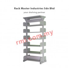 Library Double Sided Rack