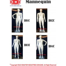 Full Body Mannequin (H01, 02, 03, 04)