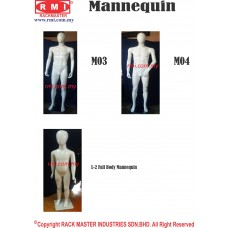 Full Body Mannequin - Man & Children