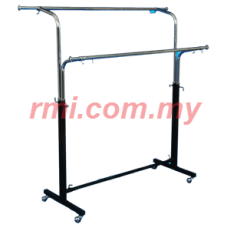 Garment Rack @ 2-007 2 Way Round Stand