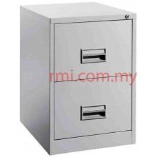 Filling Cabinet @ 2 Drawer c/w Plastic Recess Handle