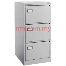 Filling Cabinet @ 3 Drawer c/w Goose Neck Handle