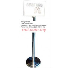 A3 Sign Stand